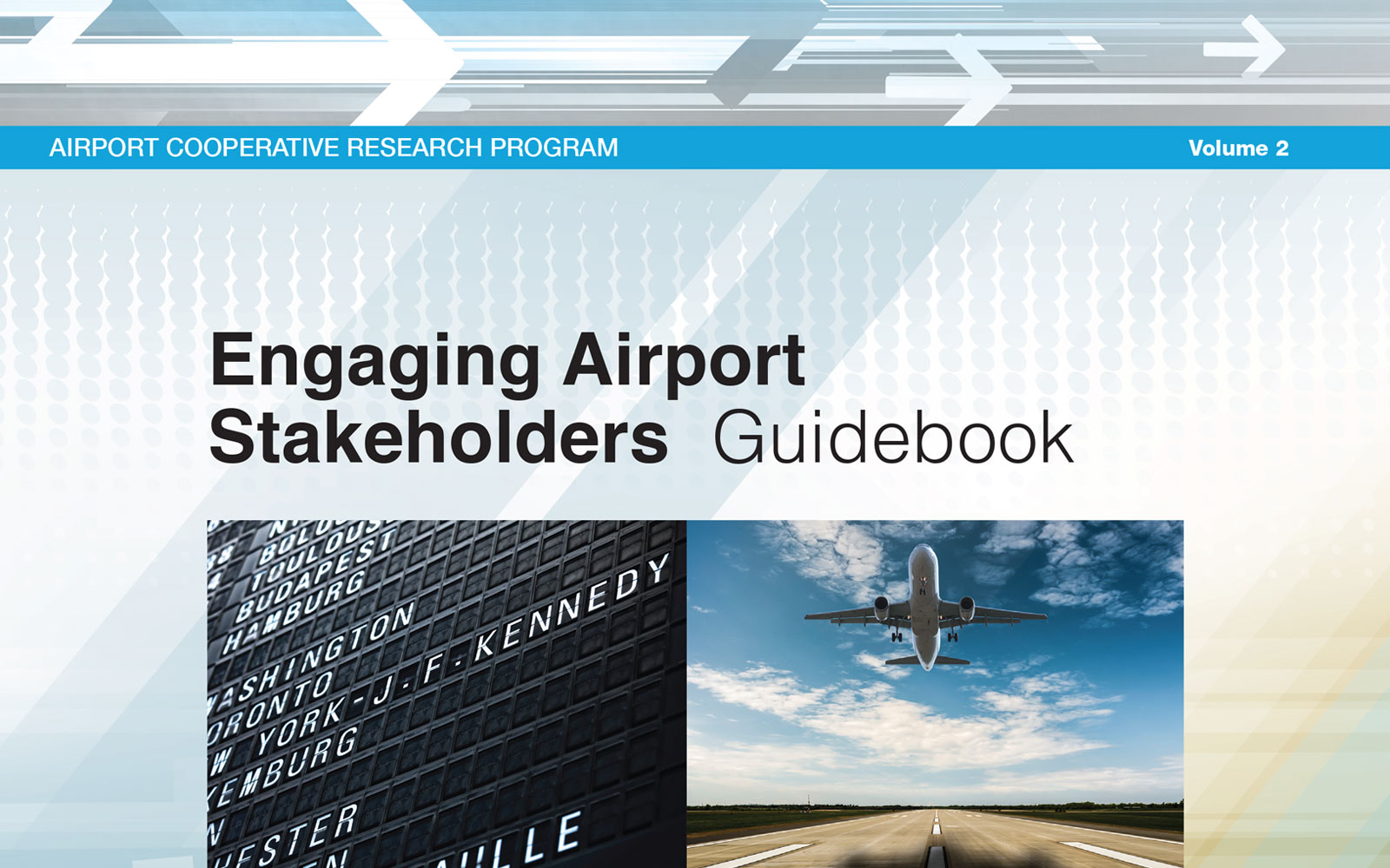 Cover of Engaging Airport Stakeholders--Guidebook