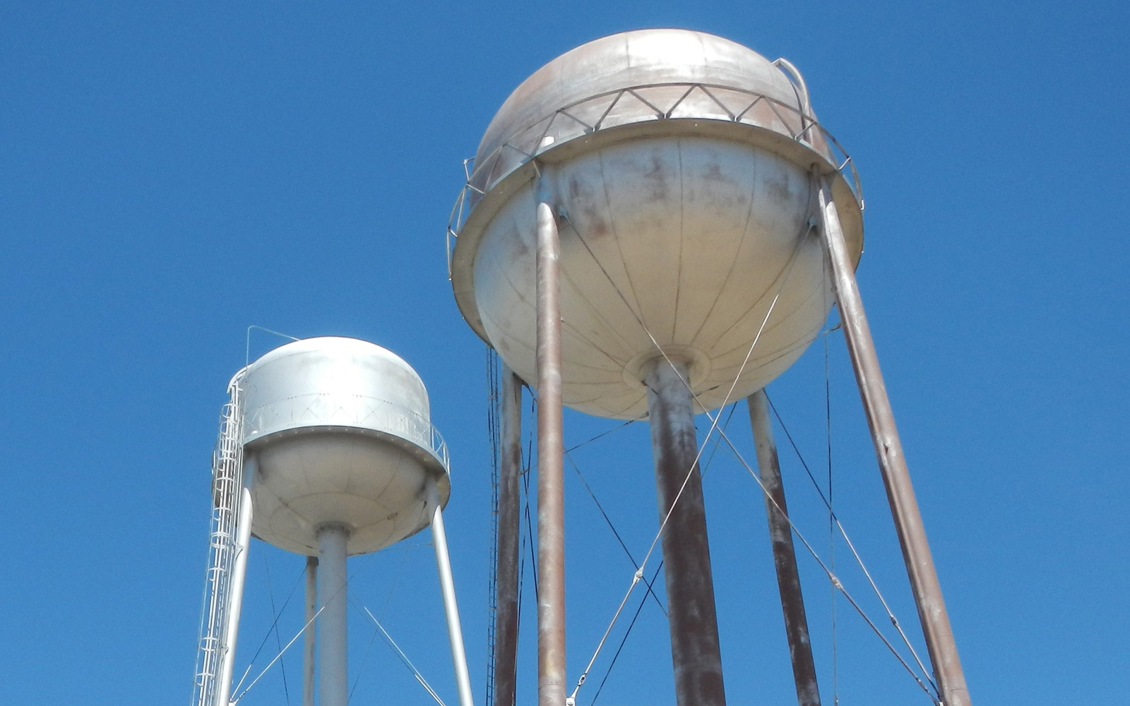 Photo of water towers