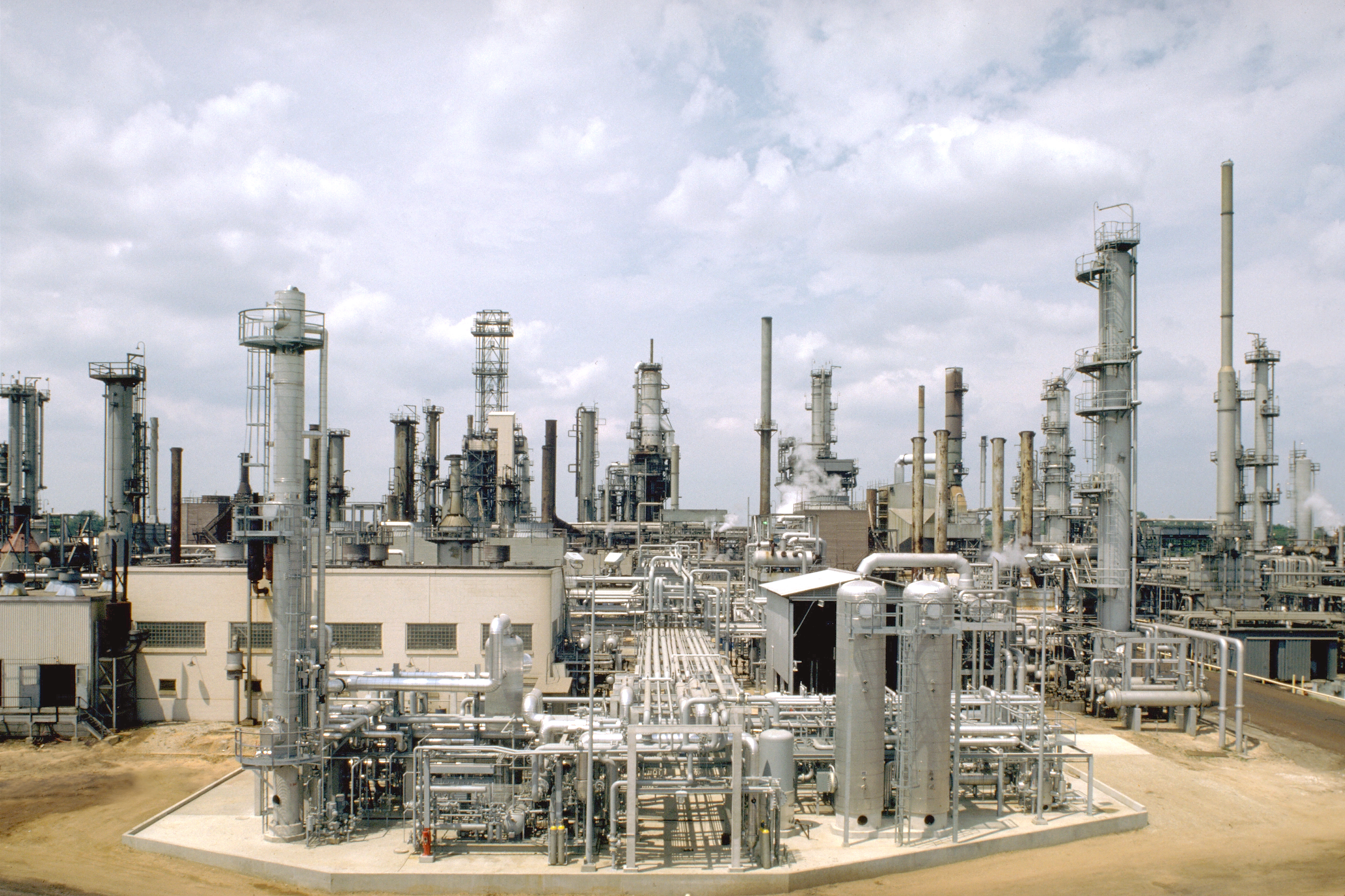 Photo of a Petroleum Refinery