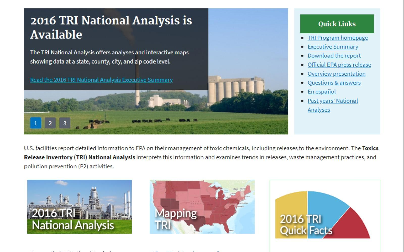 an analysis of national environment